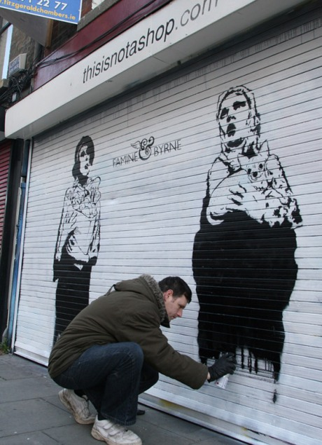 Will painting Famine & Byrne