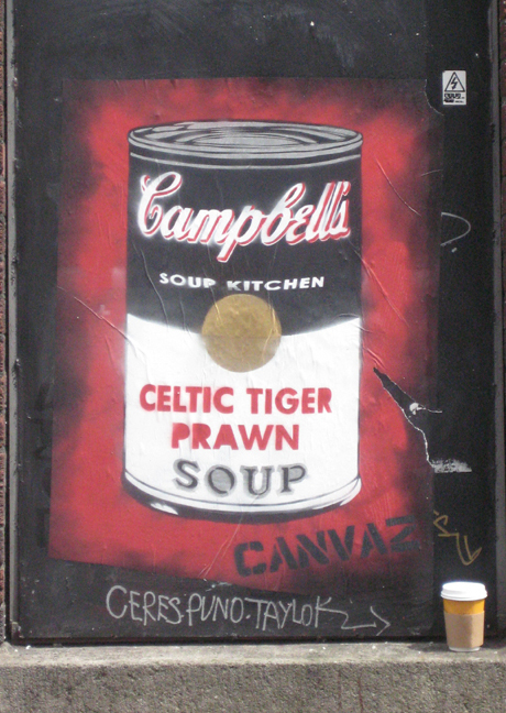 Canvas- Celtic Tiger Prawn
