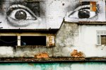 Eyes pasted in Rio - JR