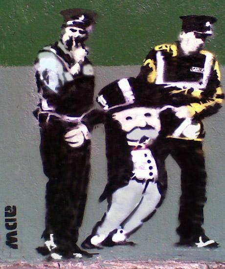 Monopoly Man - Four Courts ADW