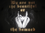 We are not the beautiful or the damned - Canvaz