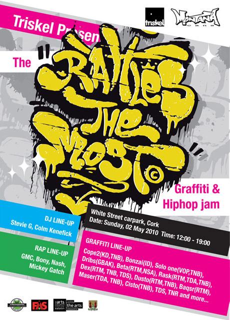 Rattles the Most Graffiti Jam Cork