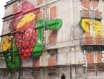 Lisbon street art Os Gémeos