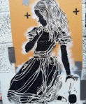 Alice : Raw Stencil - Canvaz