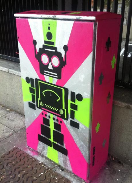 Traffic Light Box Artwork - Anna