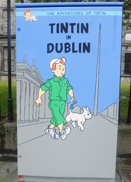 Traffic Light Box Artwork by Grainne Tynan