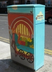 Traffic Light Box Artwork- Nicola Colton