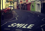 Canvaz Street Art Smile, Cavan