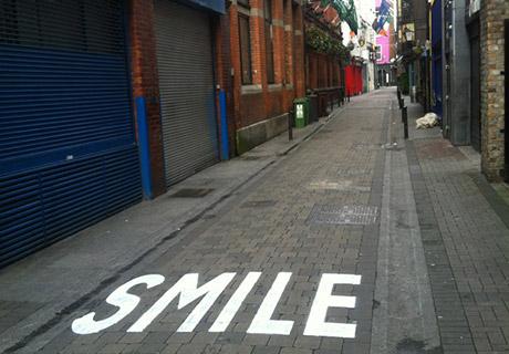 Canvaz - Street Art Smile, Dublin