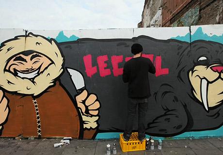 Danleo Graffiti Video Still