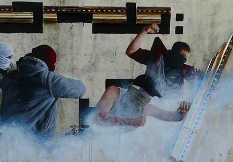 Fintan Switzer Street Art Killarney, Ireland