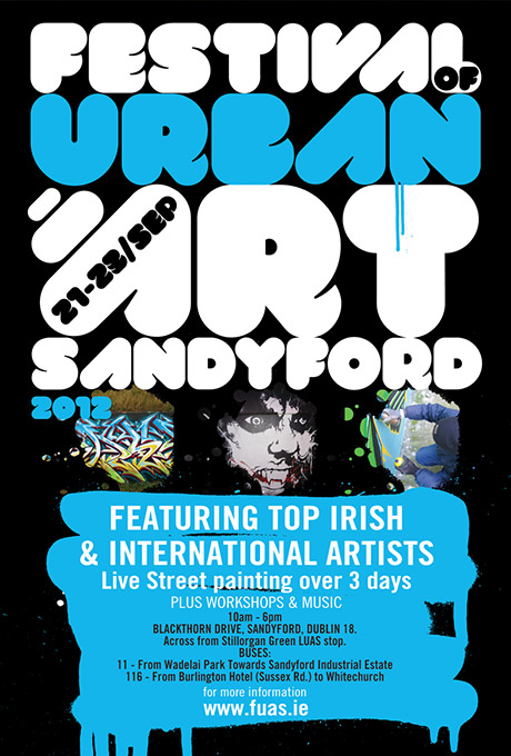 Festival-of-Urban-Art-Sandyford Flyer