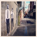 Adrian and Shane Street Art
